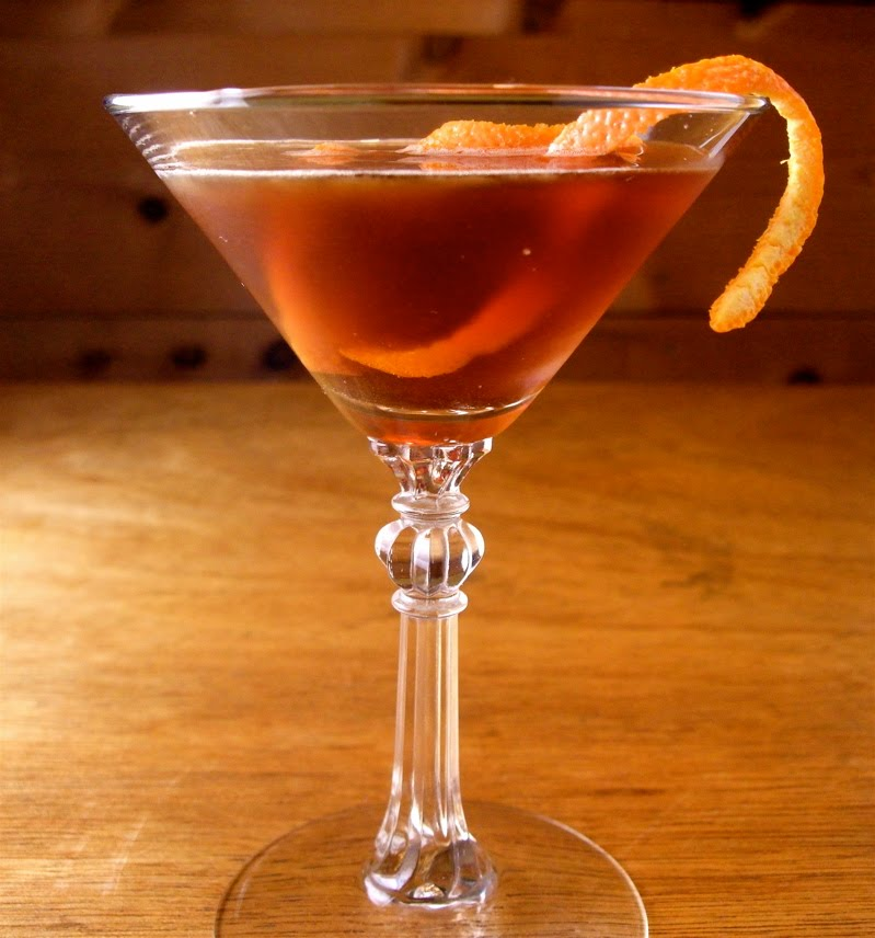 eat drink think rum manhattan cocktail drinking in the face of