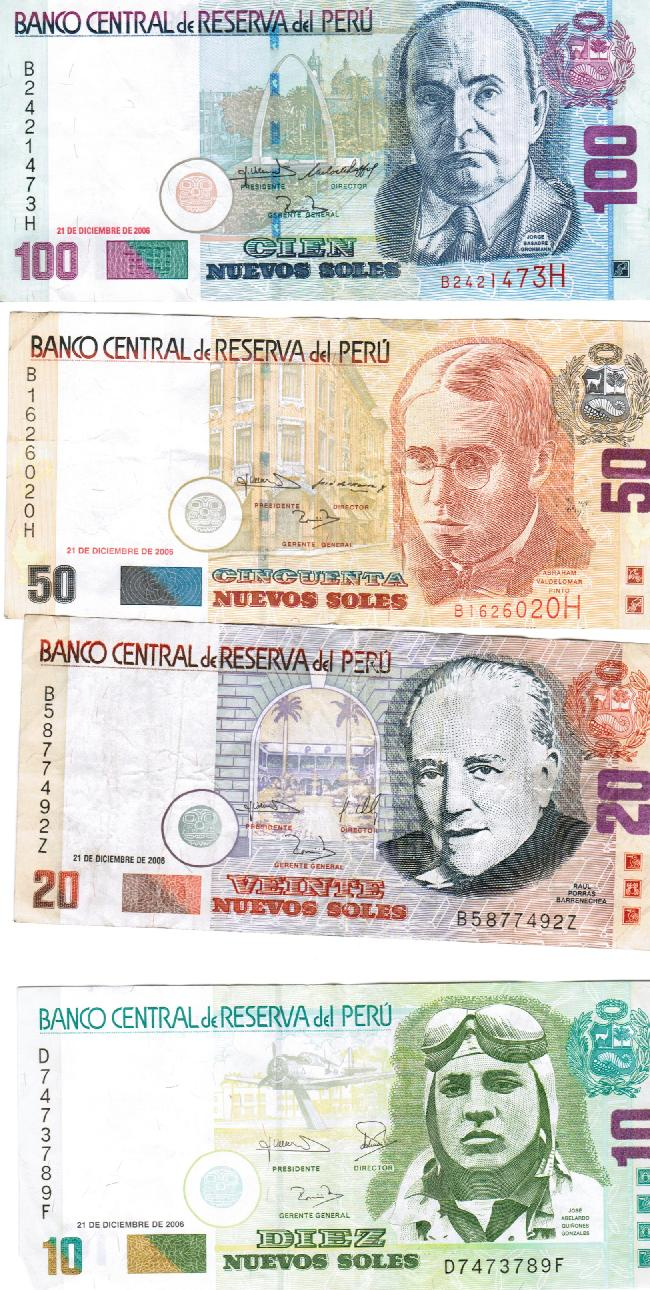 Some interesting facts about peruvian money streets of lima the other day my wife and i did a presentation about peru obviously we brought in a bunch of nuevo soles just because people of all ages like money no altavistaventures Image collections