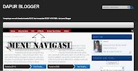 desain navigasi blog