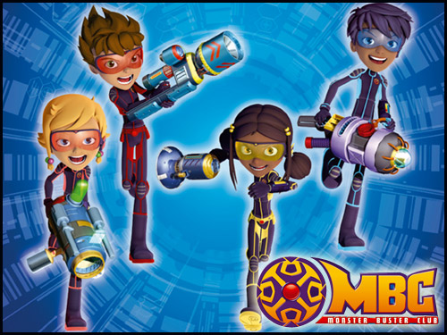Minika Monster Buster Club Oyunları