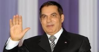 هروب رئيس تونس زين العابدين