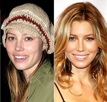 celebrity no makeup. Celebrities Without Makeup