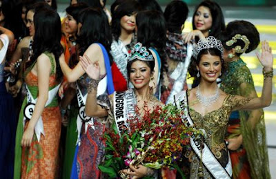 Indonesia on Qory Sandioriva Crowns Miss Indonesia 2009   Funky Downtown