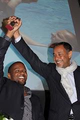 Orville Breeveld (Vitamine V) en Glenn Helberg (OcAN) winnen samen Vaderdagtrofee 2010