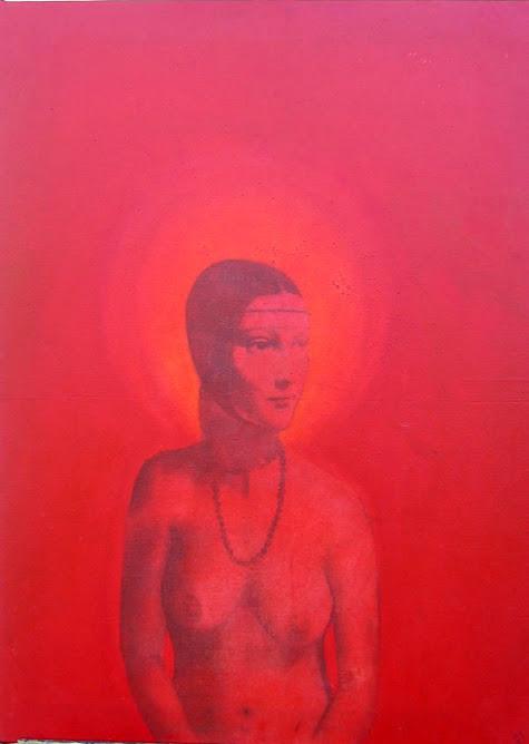 Dama sin armiño Roja