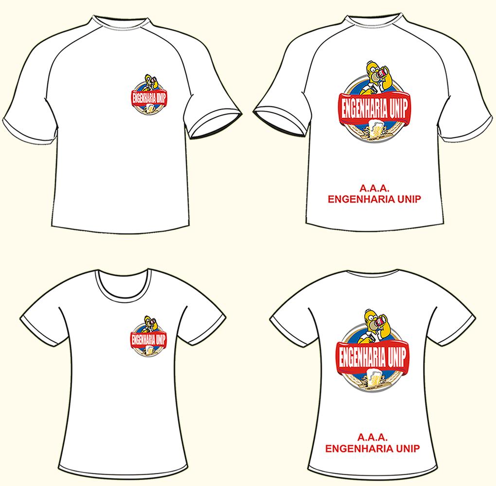Camisetas Brancas De Gola V