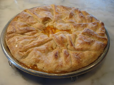 Peach Frangipane Galette Recipes — Dishmaps