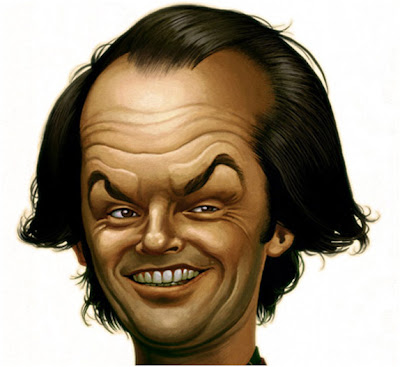 celebrity caricatures. Rolling Stones (MichelAchard)