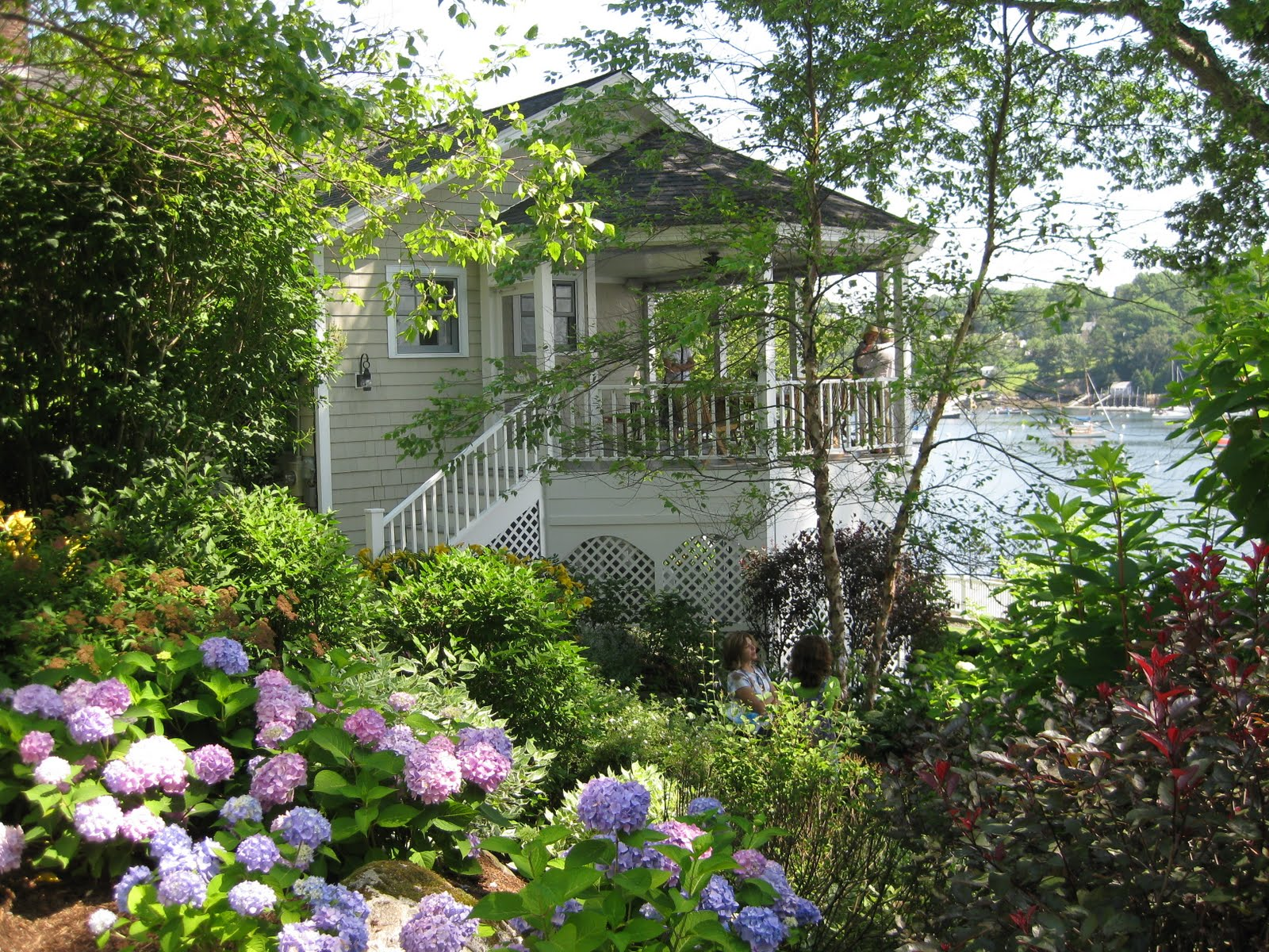 All the latest dirt camden maine house garden tour for Home and garden