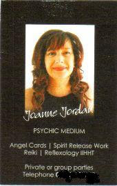 Joanne Jordan Psychic Medium