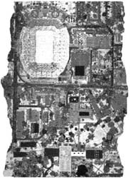 An Aerial Image of a Stadium