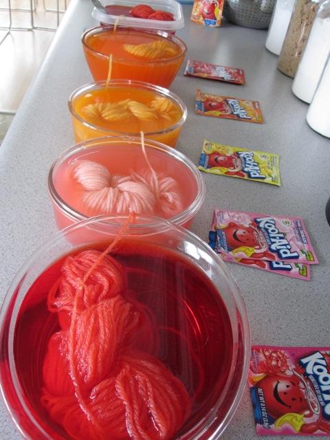 15 Things to Make with Kool-Aid  - Dye Yarn from Hey Jen Renee