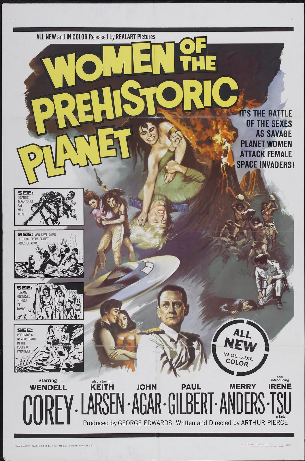 women of prehistoric planet poster 01 Pregnant anal sex