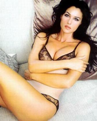 Monica Bellucci Underwear