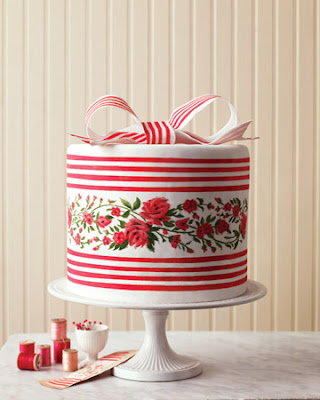 Fabric Inspired Wedding Cakes