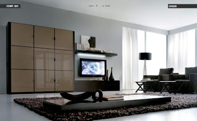 Flat-Center-Piece-Living room