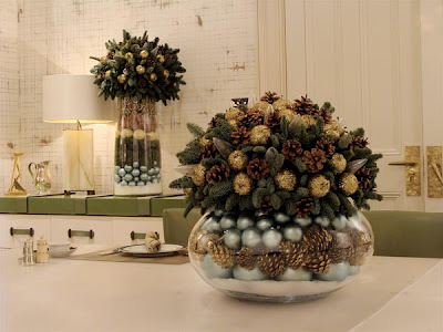 Home Decor Ideas on Natural Interior Design 2011  Christmas Decorating Ideas For Your Home