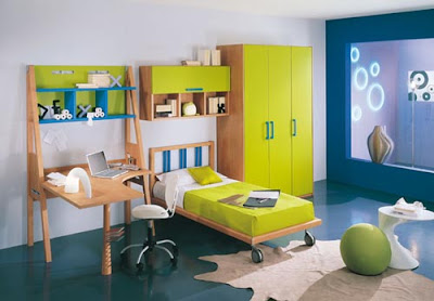 Green-Kids-Bedroom-Design