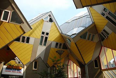 Cubic Houses - Rotterdam, Netherlands