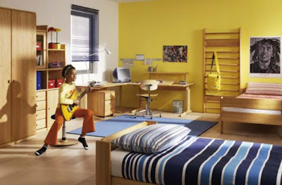 Decorating-Ideas-Yellow-Kids-Rooms