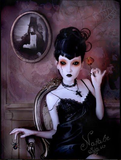 Goth Fashion Magazine on Alaska Likes  Gothic Beauty