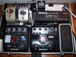 One of our guitar pedal boards