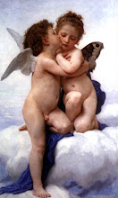 """El primer beso"" (1873) de William Adolphe Bouguereau (1825-1905)"