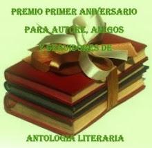 "PRIMER AÑO DE ""ANTOLOGIA LITERARIA"""