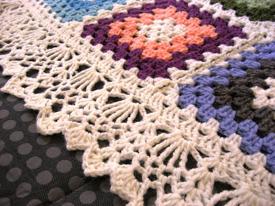 CROCHET SCALLOP AFGHAN PATTERN Crochet Patterns Only
