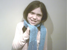 Brooklyn's Turquoise Scarf