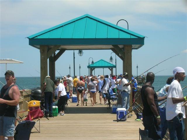 Boat hampton va buckroe fishing pier to open for Buckroe beach fishing pier