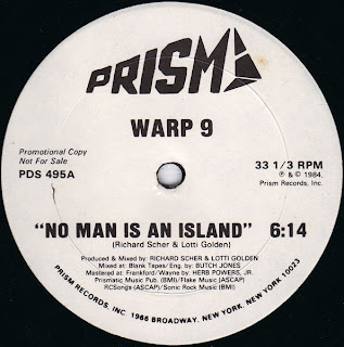 Warp 9 - No Man Is An Island [12'' Vinyl 1984]