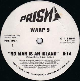 Warp 9 - No Man Is An Island [12'' Vinyl 1984]