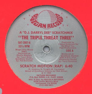 The Triple Threat Three - Scratch Motion [12'' Vinyl 1984]