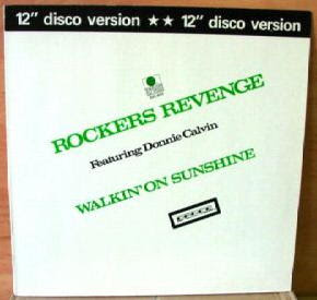 Rocker's Revenge - Walking On Sunshine [12'' Vinyl 1982]