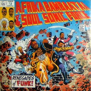 Afrika Bambaataa & The Soul Sonic Force - Renegades Of Funk [12'' Vinyl 1984]