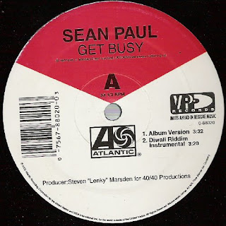 Sean Paul - Get Busy & I'm Still In Love With You [12'' Vinyl 2003]