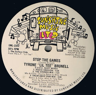 Tyrone Lil Tee Brunell - Stop The Games