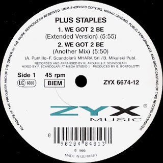 Plus Staples - We Got 2 Be