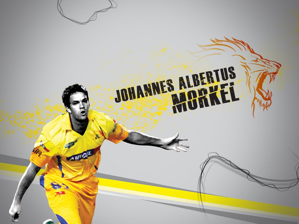 Chennai Super Kings - Albie Morkel Wallpapers