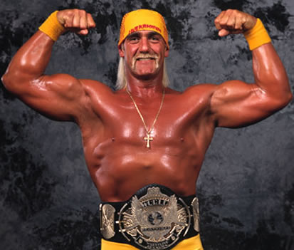 """Hollywood"" Hogan, the villainous nWo"