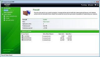 Outpost Firewall Free 2009 6.5 Build 2725.381.0687