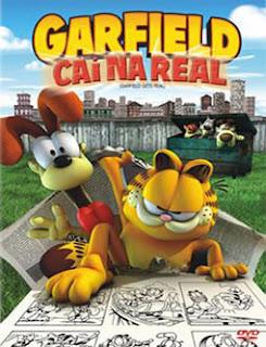 garfield Garfield Cai na Real
