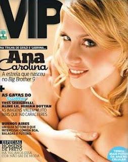 Revista VIP - Ana Carolina BBB 9 - Julho 2009