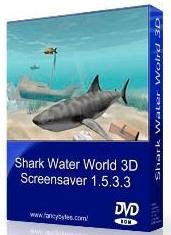 Screensaver - Shark Water World 3D