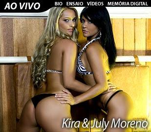Dreamcam Kira e July Moreno Dezembro 2009