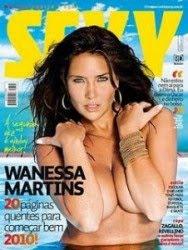 Revista Sexy Wanessa Martins Janeiro 2010