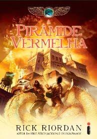 Livro As Crônicas dos Kane: A Pirâmide Vermelha (Rick Riordan)