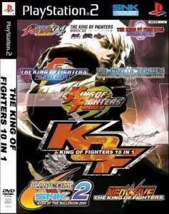The King Of Fighters 10 In 1  PS2