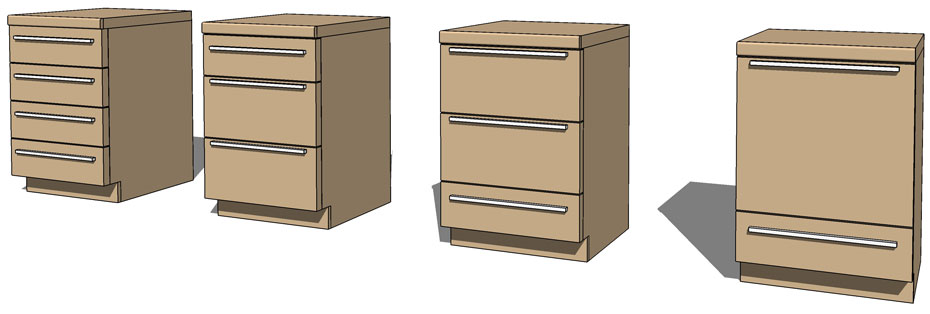 Another new feature is the ability to adjust the Worktop on all 4 sides of the Unit. That means that you can now place the Unit away from the wall and the ...